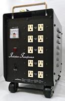 ダウン&アイソレーション・電源トランス、3000W・200V専用仕様