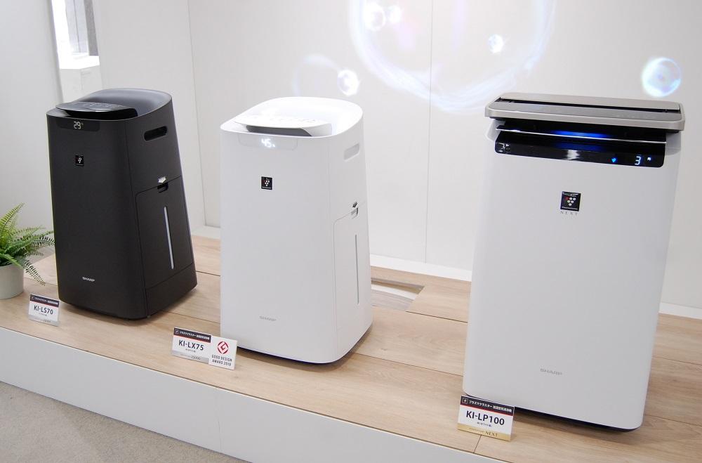 """シャープ、""""AIで賢く加湿できる""""空気清浄機。AIoTクラウドサービス「COCORO AIR」が進化"""