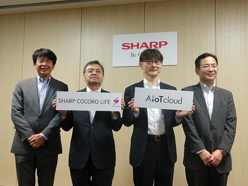 """<CEATEC>シャープ、""""AIoT""""の他社連携強化へ。「真のスマートライフ」実現目指す"""