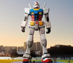 جنون اليابان وصل حده !! جاندام حقيقي بارتفاع 18 متر !!!,أنيدرا