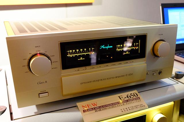 Accuphase E-650 inbound [Archive] - AudioAficionado org