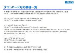 dmr-bwt510 ファームウェア