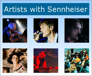 Artist with Sennheiser